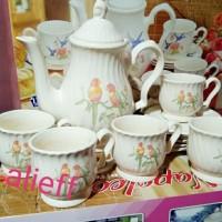 cangkir set /gelas set/tea set napoleon.cofe set .GRATIS BUBLE WRAP