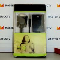 Converter KABEL VGA to HDMI Adaptor With Micro USB Power Audio