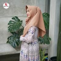 Warna Milo. Khimar Aisyah