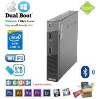 Mini PC Lenovo ThinkCentre M93p Core i7-4770T CPU 2.50GHz SSD 128GB