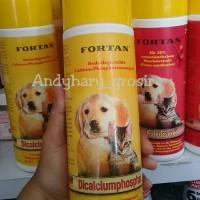 Fortan Dicalciumphosphat 600gr kalsium untuk anjing dan kucing calc