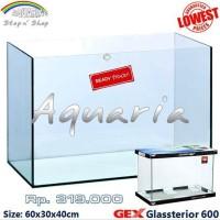 Aquarium Gex Glassterior 600 Japanese Quality last stok