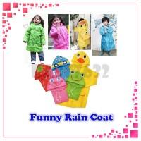 jas hujan plastik RAINCOAT CHILDREN / JAS HUJAN ANAK LUCU