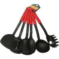 AY Kitchen Tools Set 6 Pcs Color Atau Alat Masak Spatula Set