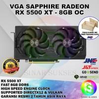 VGA SAPPHIRE AMD RADEON RX 5500 XT OC 8GB DDR6 128 BIT MURAH