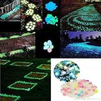 jual batu hias glow in the dark dekorasi hiasan taman