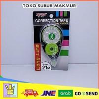 CORECTION TAPE ( TIP-EX ) PITA KOREKSI CT-533 5mm X 21M ALAT TULIS