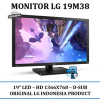 "LED LG 19M38 19"" MONITOR LED LG 19M38"
