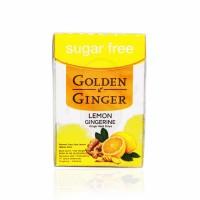 GOLDEN GINGER FLIPTOP SUGAR FREE LEMON GINGERINE 45 GRAM