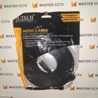 HDMI CABLE M-TECH 5M / Kabel HDMI meter Merk M-TECH / HDMI Length 5M