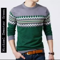 Sweter / Tribal / Navy / Baju / Jaket/ terbaru/ colombus/ Michel Green