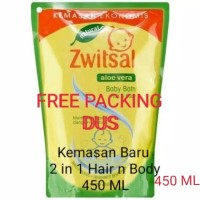 Zwitsal Natural Baby Bath 2 in 1 Hair and Body 450 ML
