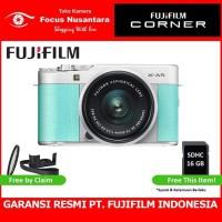FUJIFILM X-A5 Kit 15-45mm f/3.5-5.6 OIS PZ (Mint Green)