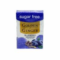 GOLDEN GINGER FLIPTOP SUGAR FREE BLUEBERRY GINGERINE 45 GRAM