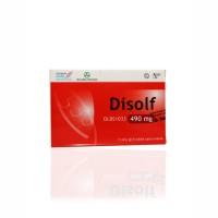 DISOLF 490 MG BOX 30 TABLET
