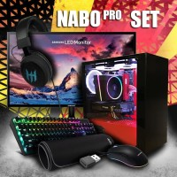 "PC FULL SET | i5-9400f | GTX 1650 AMP! | 24"" Monitor (Langsung Pakai) - AMP PROSET"