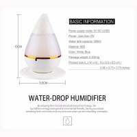 Ultrasonic Air Humidifier Diffuser Aroma Therapy Essential Oil
