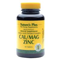 NATURE'S NATURES NATURE PLUS CAL/MAG/ZINC CAL MAG ZINC - 60 TABLETS