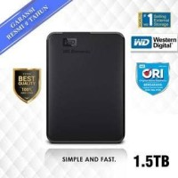 WD Element Elements 1.5TB - HD HDD Hardisk Eksternal External 2.5