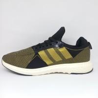Sepatu Adidas Ultraboots Import Vietnam Gold Hitam Pria Dewasa Running