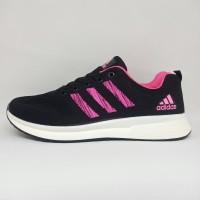 Sepatu Lari Running Adidas Import Hitam Pria Wanita Dewasa Termurah