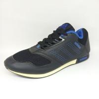 Sepatu Pria Adidas Neo import Vietnam Hitam Sekolah Casual Sneaker