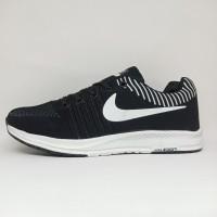 Sepatu Pria Running Nike Zoom Import Hitam Sepatu Lari Olahraga Murah