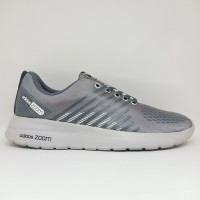 Sepatu Adidas Zoom Flyknit Running Pria Abu Termurah Grade Original