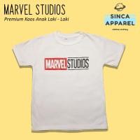 Baju Kaos Anak Cowok Laki - Laki Marvel Studio Premium