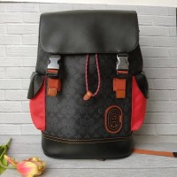 Tas Coach Rivington backpack in signature canvas with coach patch OrI