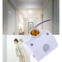 Fitting Lampu Otomatis Sensor Gerak E27 PIR Infrared