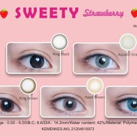 Ada Softlens Sweety Strawberry -