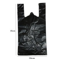 10 Lembar Plastik Kresek Hitam No. 28 (28x48cm)