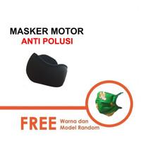 Masker Filter Motor Anti Debu Polusi Asap GRATIS MASKER!!!