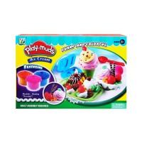 Play Muds Ice Cream (Mainan Edukasi anak ber SNI) Kemasan Lengkap