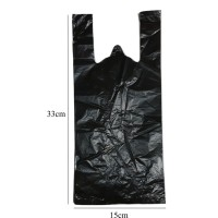 10 Lembar Plastik Kresek Hitam No. 15 (15x33cm)