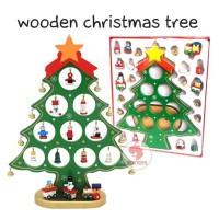 Zoetoys Wooden Christmas Tree | kado anak | mainan edukasi | edutoys