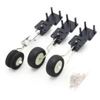 Mechanical Retractable Rc plane Landing gear set