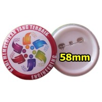 Souvenir PIN Peniti 58 mm acara seminar event murah promosi