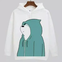 Jaket Sweater Hoodie Wanita Beruang/ Bear Cool