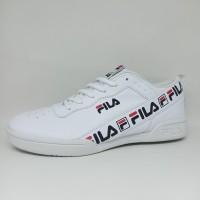 Sepatu Putih Polos Fullwhite Fila Import Vietnam Pria Dewasa Termurah