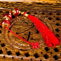 jual gantungan lampion merah susun 3 hiasan imlek dekorasi