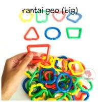 Zoetoys Rantai Geo (big) | mainan edukasi | mainan anak | edutoys
