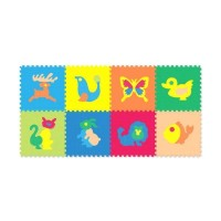 Evamat animal 30 x 30 isi 8pcs - babyonboard