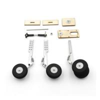 Roda Landing Gear shock breaker tension spring pegas tarik 1 set