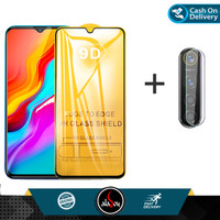 Paket Tempered Glass Layar Dan Camera Infinix Hot 8