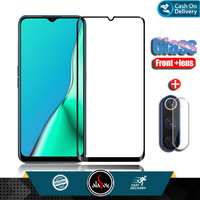 Paket Tempered Glass Layar Dan Camera Oppo A9 2020