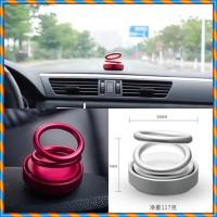 Pajangan Mobil Suspensi Aroma Double Ring Hiasan Parfum mobil