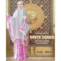 Mukena Tie Dye White Series Super Jumbo