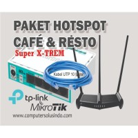 Paket Hotspot Untuk Cafe Dan Resto